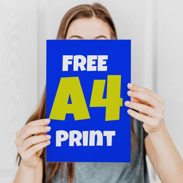 free a4 print